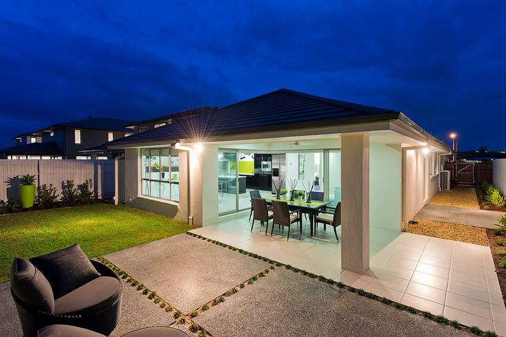 #Alfresco #ideas from Ausbuild's Segal display #home. www.ausbuild.com.au