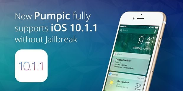 Pumpic is always up to date with the modern trends and technical updates. That is why we are happy to announce that we now support the latest iOS 10.1.1