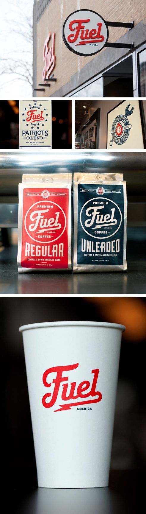 Fuel coffee branding Uploaded by user