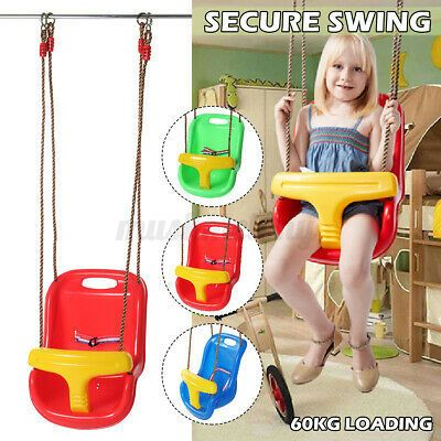 Outdoor Home High Back Toddler Baby Children Swing Chair In 2020 Kids Swing Swinging Chair Kids Swing Chairs