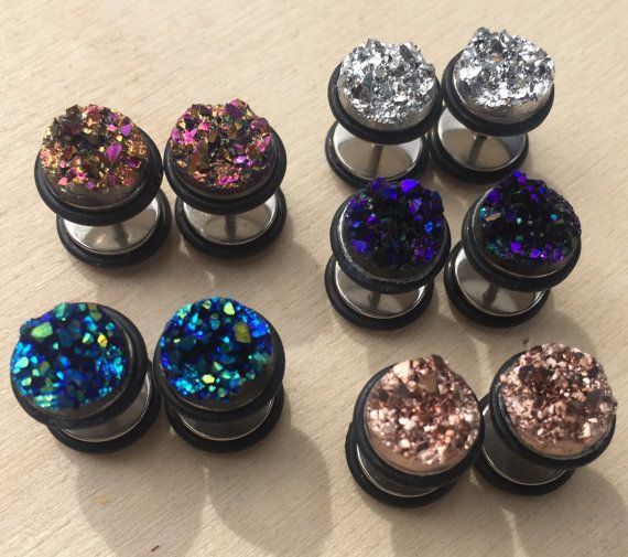 Hey, I found this really awesome Etsy listing at https://www.etsy.com/listing/279217992/druze-dream-fake-plugs