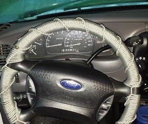 Paracord steering wheel wrap paracord wheels and wraps for Paracord steering wheel wrap