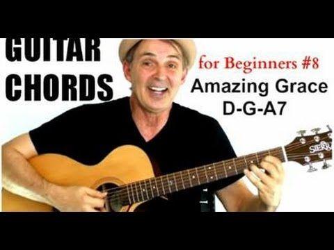 Guitar Chords for Beginners #8 - Amazing Grace - YouTube https://www.youtube.com/my_videos?o=U&pi=6