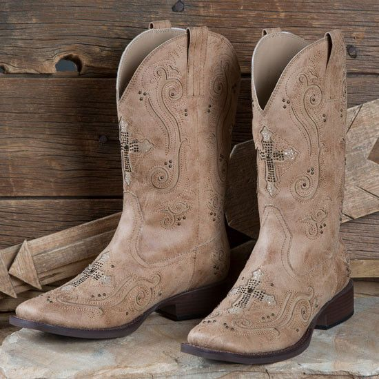 b3f7c71aab0 Roper 9210196 Ladies Tan Faith Boots | Women's Western Boots and ...