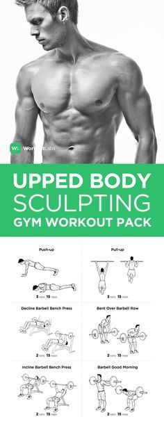 FITNESS - Visit https://WorkoutLabs.com/workout-packs/upper-body-sculpting-gym-workout-pack-for-men-women to download this Upper Body Sculpting Gym Workout Pack for Men & Women