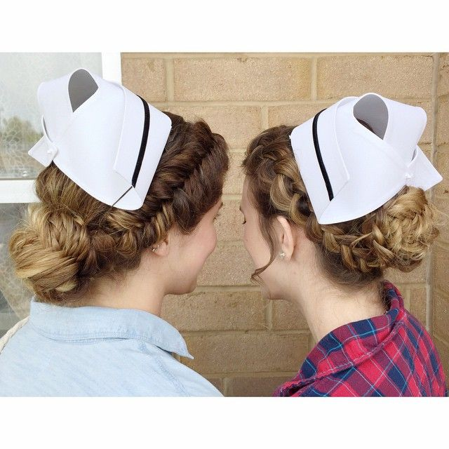 Pin by brei amaro on Nursing School Graduation Hair in 2019 | Nurse hairstyles, Graduation ...