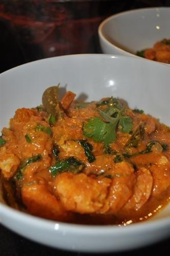 Another Durban favourite - Prawn Curry.