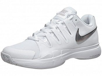 Nike Zoom Vapor 9.5 Tour White/Silver Women's Shoe