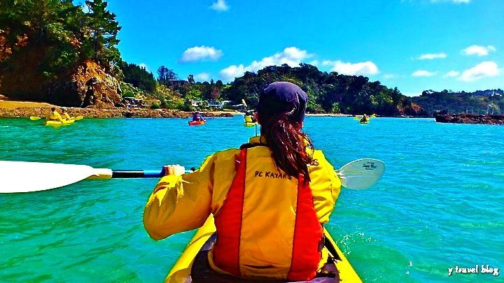 Go Sea kayaking - 15 Things To Do On New Zealand's North Island