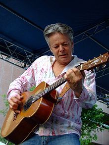 Tommy Emmanuel's fingerstyle technique shown at a June 2006 performance at the City Stages venue in Birmingham, Alabama
