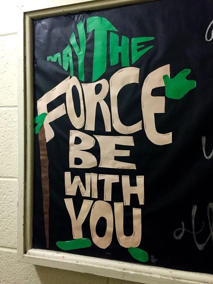 Yoda // Star Wars bulletin board // RA                                                                                                                                                                                 More