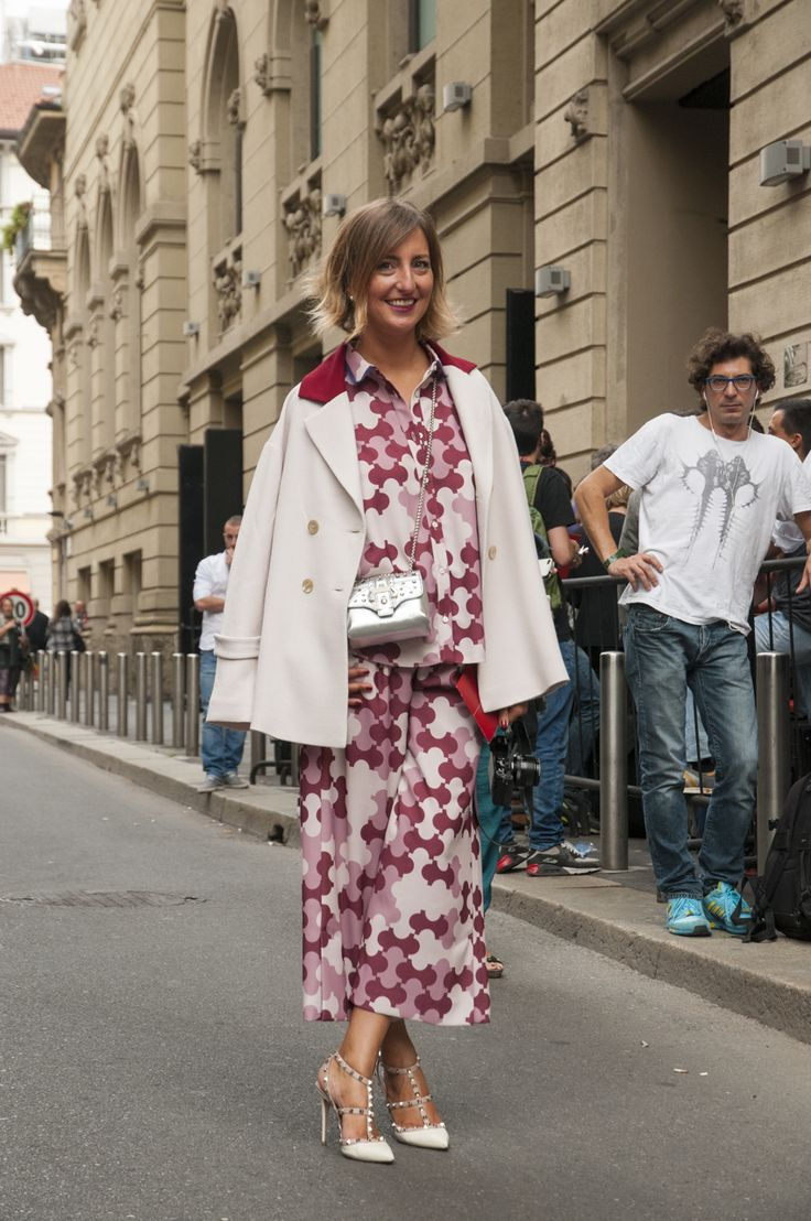 Milan Female Fashion Week SS15 - people @ Gucci show #mfw #milanfashionweek #gucci #outfitideas