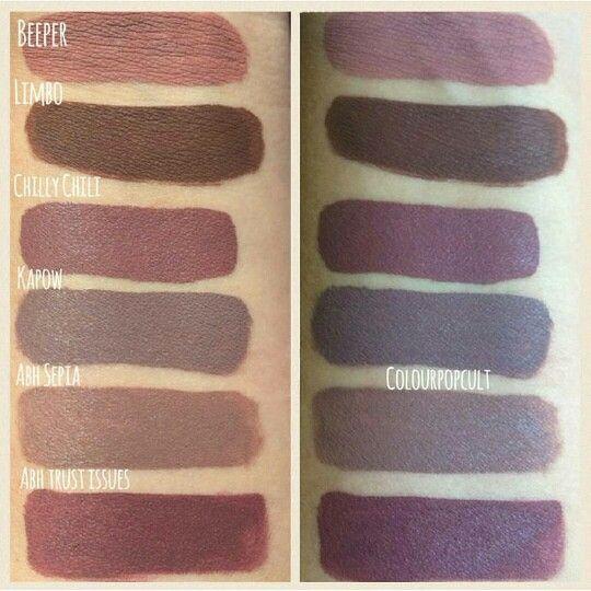 Colour Pop Ultra Matte