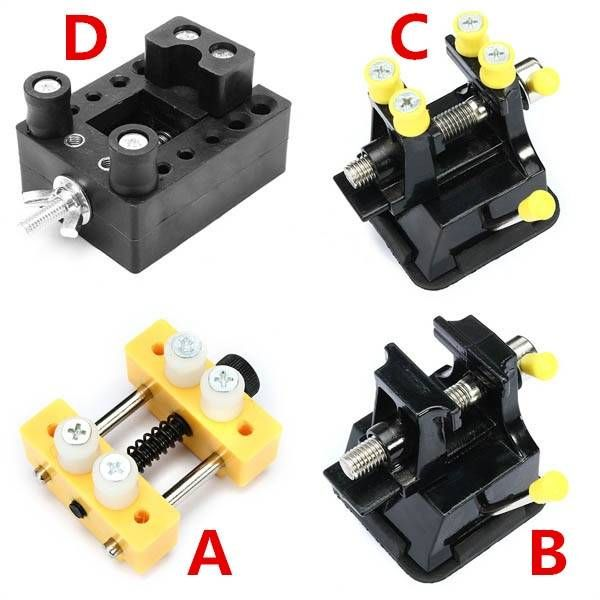 Mini Bench Vice Clamp Carving Clamping Tools Plastic Screw Bench Vise Sale - Banggood Mobile