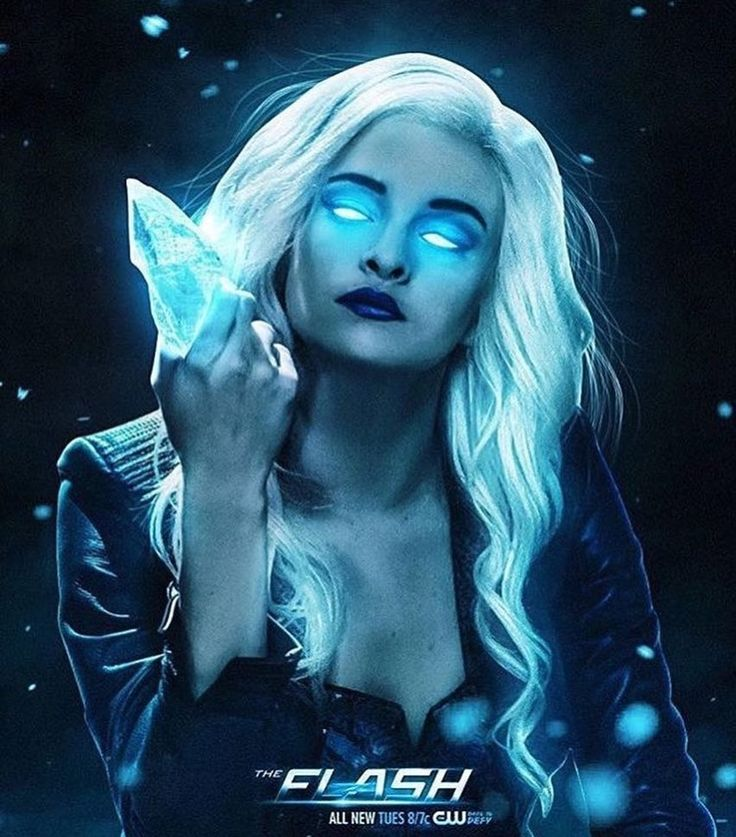 Killer Frost - Another Classic Piece of Earth 2 from @bosslogic ❄️ #CaitlinSnow #TheFlash #KillerFrost