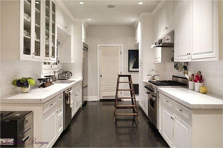 DIY Small Galley Kitchen Remodel | Best Ideas About Galley Kitchen Design
