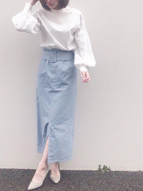 6eee5b1ad2c89 ropia MAISON DE REEFURのシャツ ブラウスを使ったコーディネート in 2019