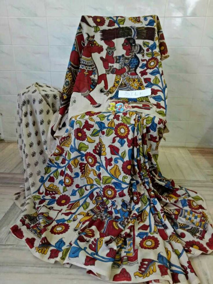 Kalamkari silk cotton sarees