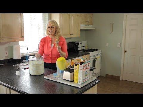 Barato, simple, Hecho en casa detergente de lavandería - Una cosa buena por Jillee