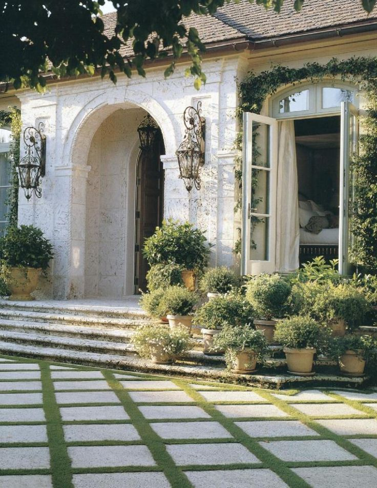 302 Best Images About Front Facade Kerb Appeal On Pinterest: 20 Best Entry Steps - French Country & Traditional Images On Pinterest