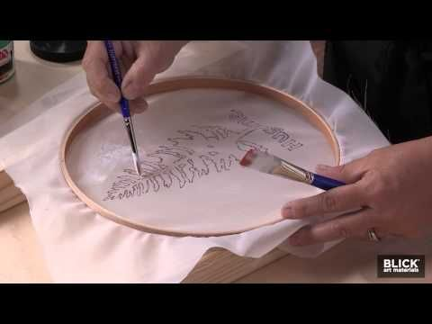 Simple Silk Screening! Step by Step Instructions - Blick Art Materials on YouTube