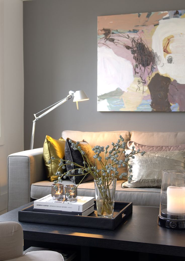 Living room details, Pied à Terre - Designed by Norwegian Interior Architect firm Metropolis arkitektur & design - www.metropolis.no
