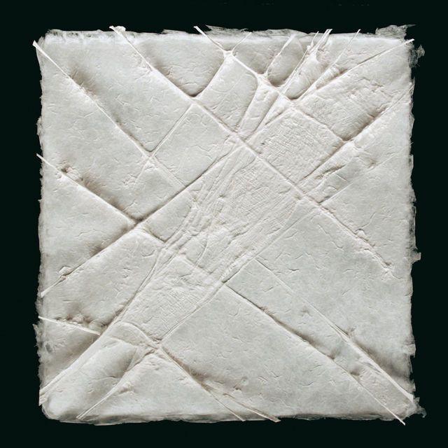 Aerial xu12 (from the series Making Paper) Fibra hecha a mano y dibujo de celulosa. Modelación.