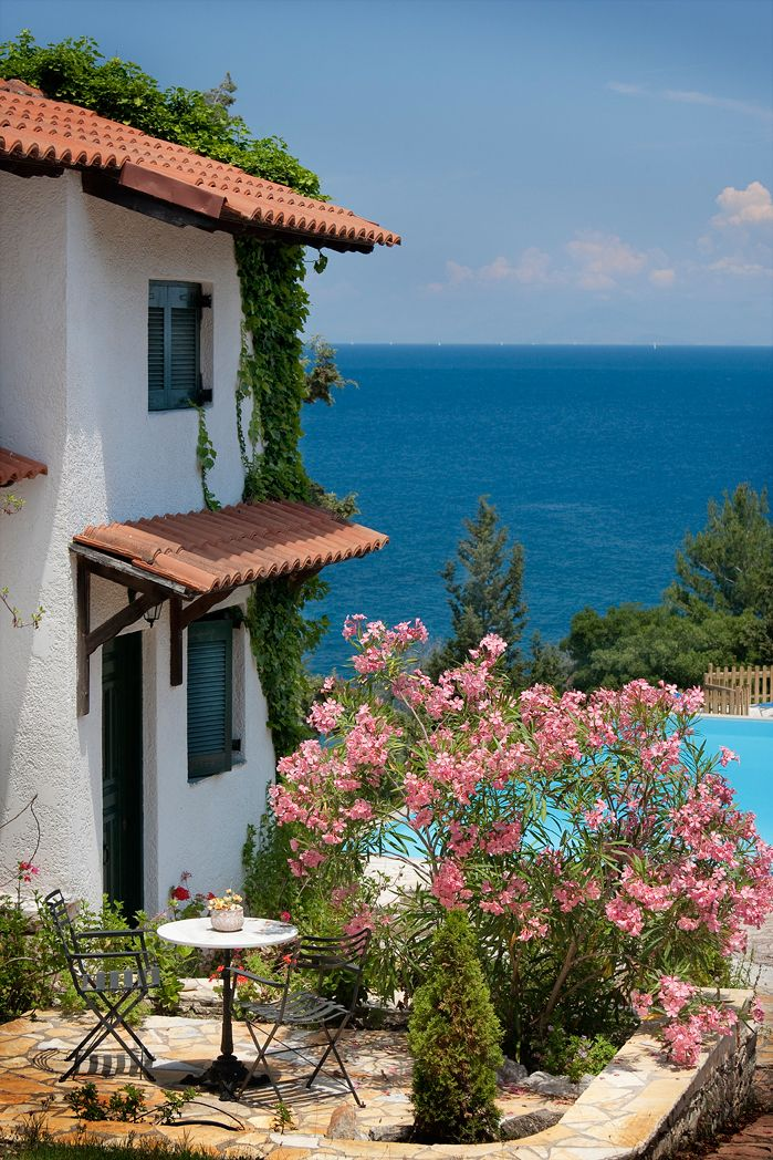 Glyfada Beach Villas on the idyllic island of Paxos, Greece