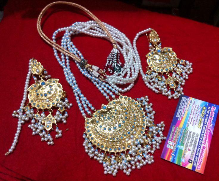 Kundan Mala set  Made By:Kaahif Kundan  Email kashifkundan@yahoo.com Mobile whatsaap viber IMO 00923002090060