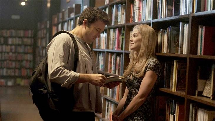 "Who's the girl in 'Gone Girl'? 7 things to know about Rosamund Pike ---> In the 2012 bestselling book and upcoming movie ""Gone Girl,"" Amy Dunne goes missing, and police and friends try to find out what they really knew about Amy and husband Nick. In real life, moviegoers know quite a bit about Ben Affleck, who plays Nick, but Rosamund Pike, who plays Amy, may be new to them. And so, let us introduce you to the 35-year-old English actress. (September 24)"