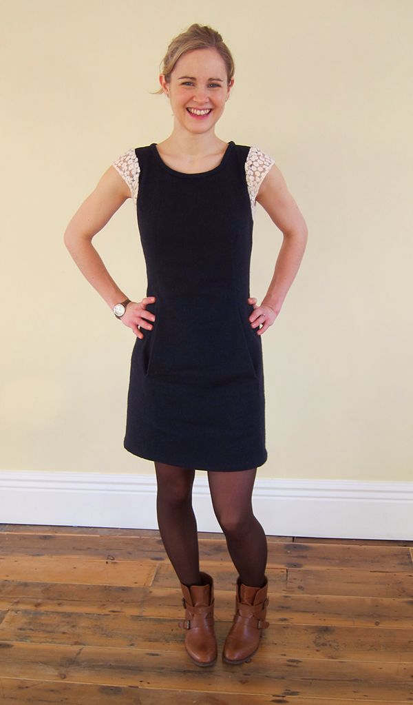 My Completed Cosy Chloe Dress | Guthrie & Ghani Done!