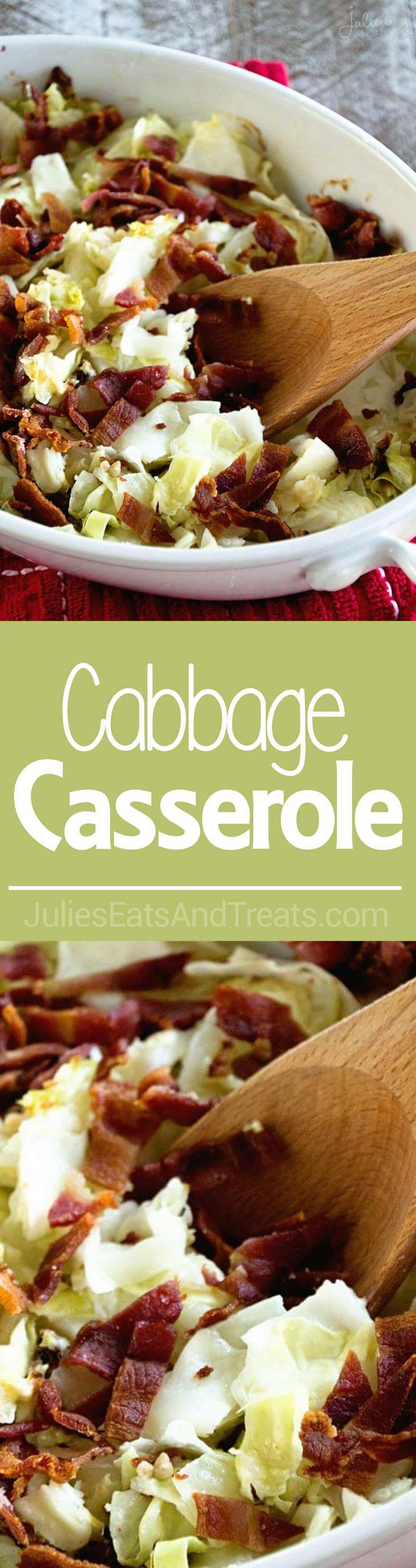 Easy cabbage casserole recipes