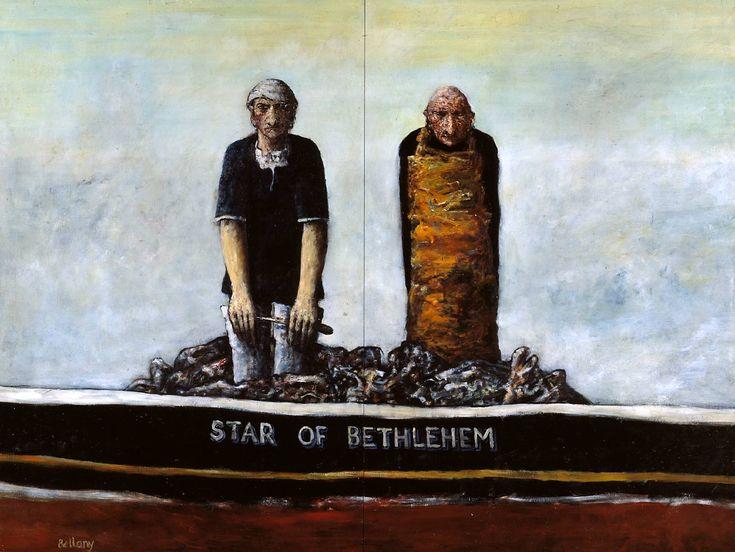 John Bellany, 'Star of Bethlehem' 1966