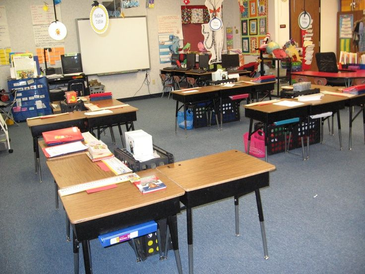 Classroom Decoration Desk Arrangements ~ Classroom desk arrangements my