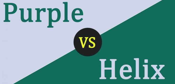 Purple Mattress vs Helix