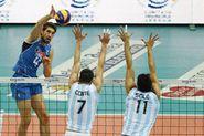 Volley. Amichevole Italia vs Argentina.