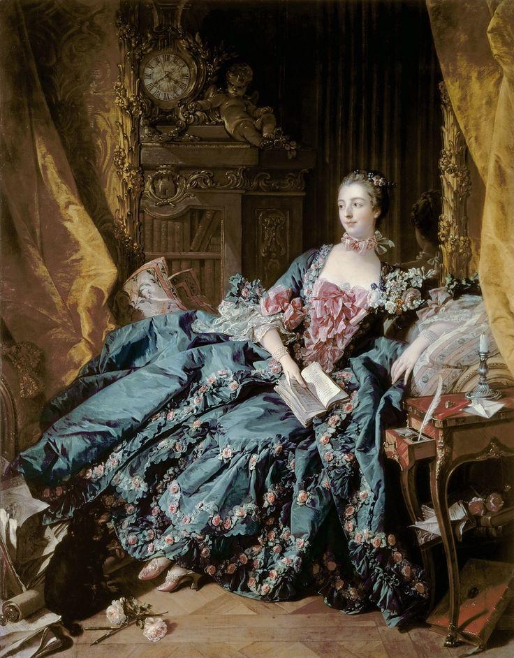 Франсуа Буше. Портрет маркизы де Помпадур, 1721-1764