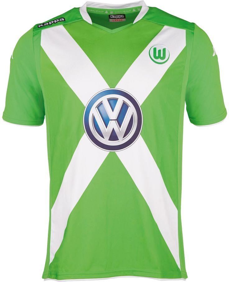 VfL Wolfsburg 2014-15 Kappa Home