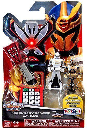 Amazon.com: Power Rangers Super Megaforce Legendary Ranger Key Pack Roleplay Toy [Mystic Force]: Toys & Games
