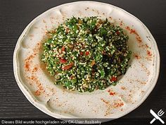 Libanesischer Petersiliensalat, ein beliebtes Rezept aus der Kategorie Gemüse. Bewertungen: 18. Durchschnitt: Ø 4,4.
