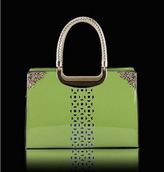 2014 dámske kabelky originálne patent kožené kabelky módne ženy messenger tašky značky vláčiť vzory Spojka taška cez rameno tašku Q0086