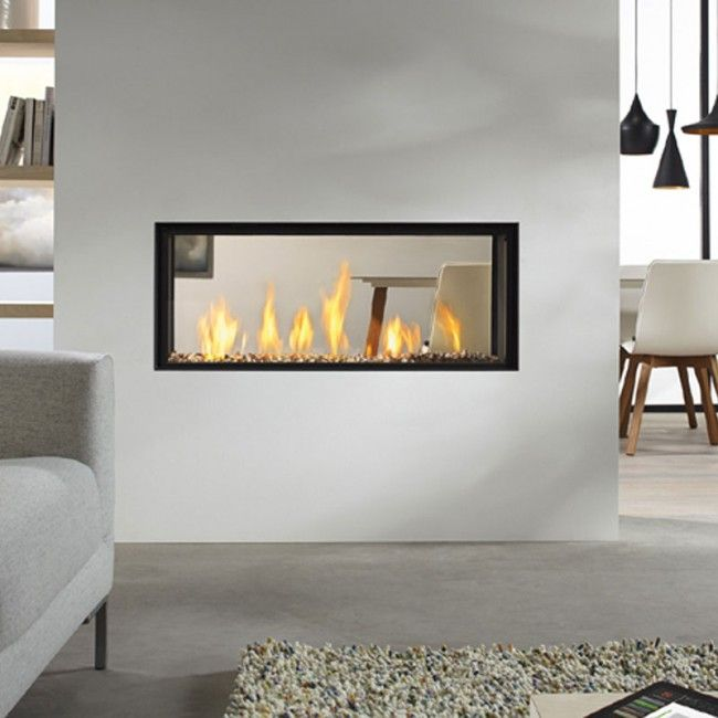 Dru Metro 100xt Tunnel Eco Wave Balanced Flue Gas Fire Fireplaces In 2019 Gas Fires Gas Fireplace Open Fireplace