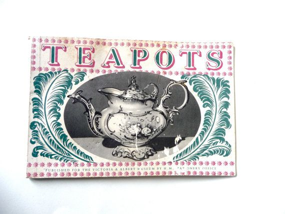Teapots - published for the Victoria and Albert Museum - by TickleAndFinch