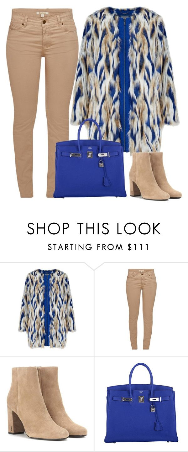 """""""Fashion inspiration"""" by monika1555 on Polyvore featuring Barbour, Yves Saint Laurent and Hermès"""
