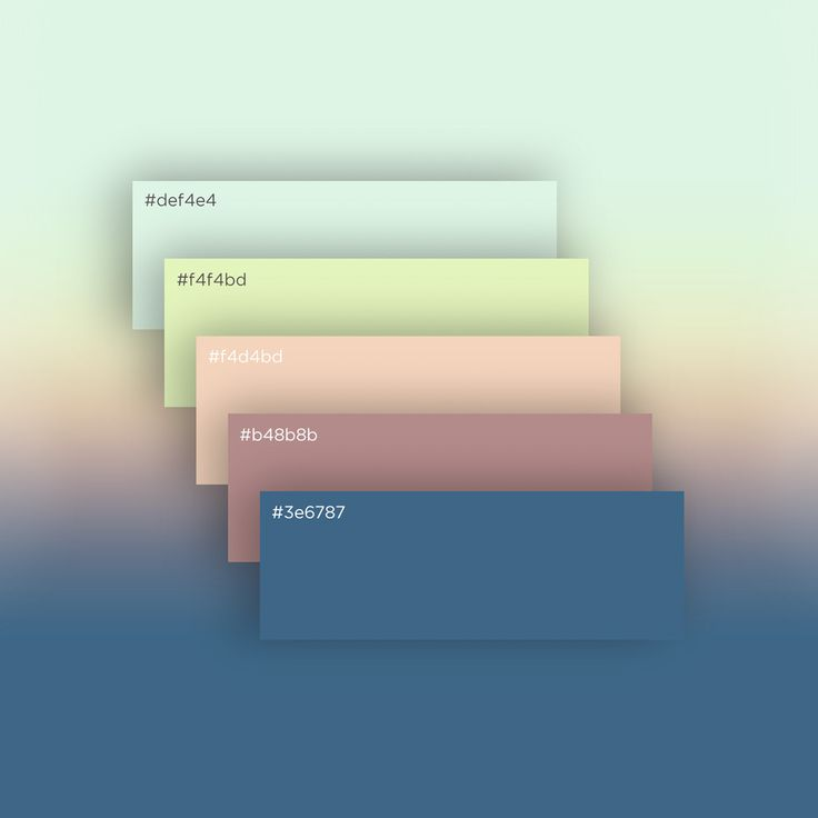 Free Flat & minimal Palette on Behance