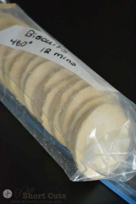 Homemade Freezer Biscuits-6