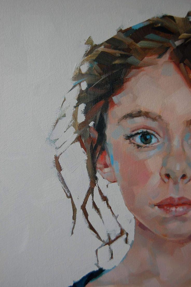 Simon Davis Art, Work In Progress, Close-up