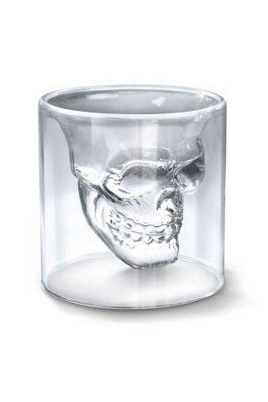 Floating Skull Shot Glass