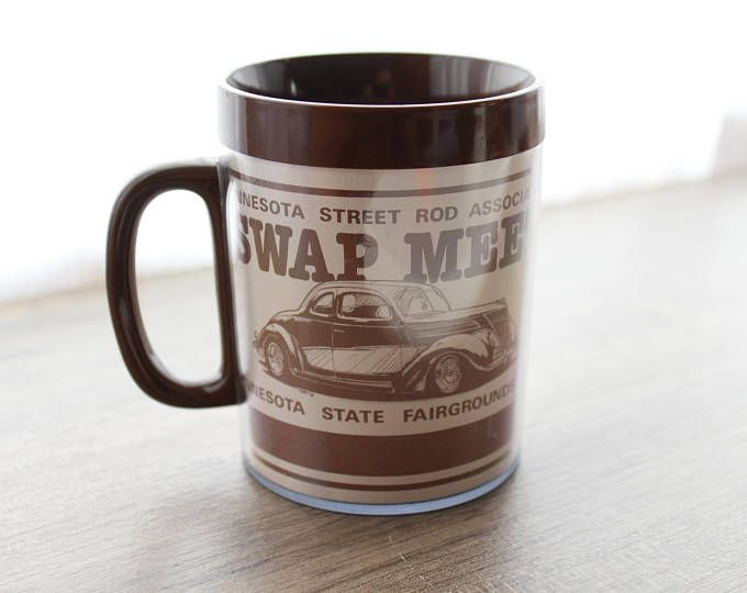 Vintage Hot Rod Mug // Minnesota Street Rod Association // Minnesota State Fair Grounds // Coffee Mug // Classic Car // Automotive