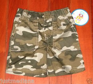 NWT - Circo Baby Boys Camouflage Shorts - Size 9 months